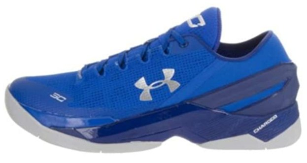 Under Armour UA Curry 2 Low (US Men's Size 10.0) Blue