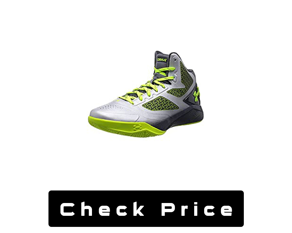Under Armour Mens UA Clutch Fit Drive Outdoor Basketball Shoes