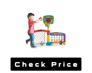 Little Tikes 3-in -1 Sports Zone Baby Toy